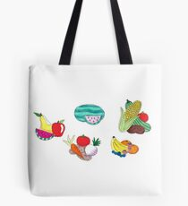 Fruits and Veggies Single Version Tote Bag