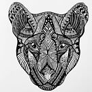 Panther Totem Animal  by RusticRaw