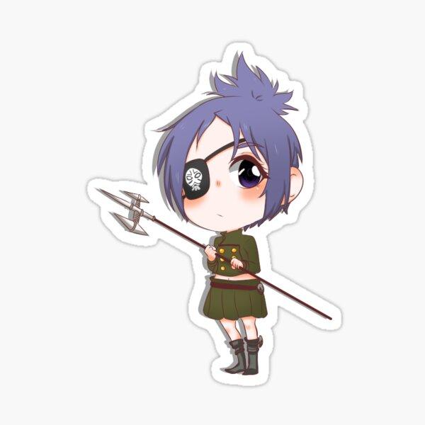 Chrome Dokuro Sticker