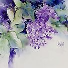 Messy Lilac by Bev  Wells