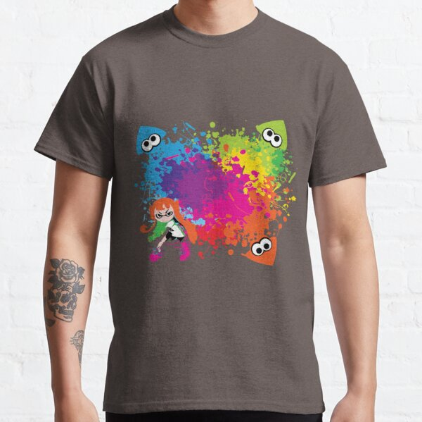 Splatoon - Ink Burst Classic T-Shirt