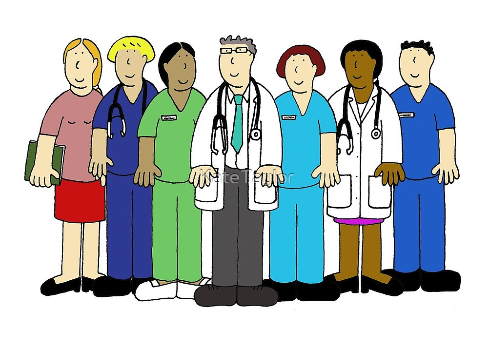 Thank You to the Medical Team. by KateTaylor
