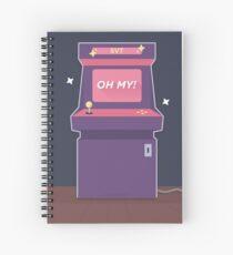 oh my! arcade ver. - seventeen Spiral Notebook