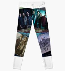 Teen Wolf/The 100- Started as Kids. Ended as Heroes. Leggings