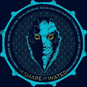 SHAPE OF WATER LOGO  by VERNACI
