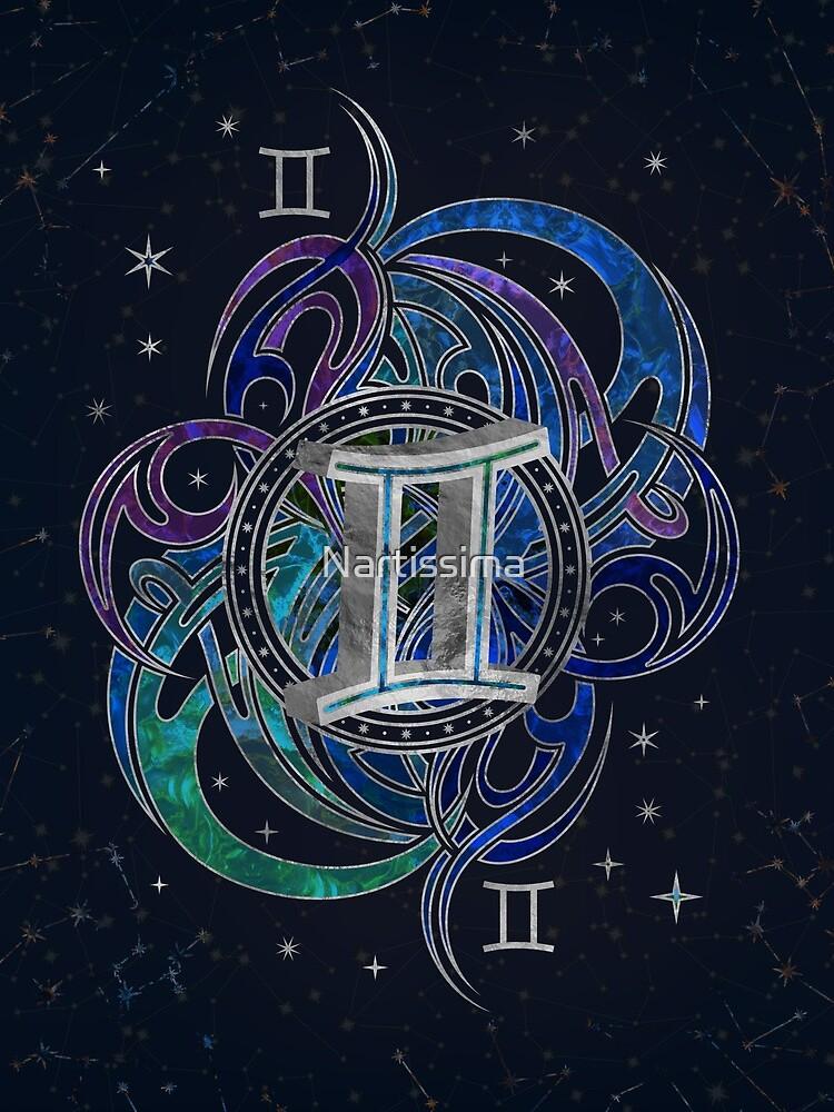Gemini Zodiac Sign Air Element by Nartissima
