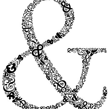 Ampersand LOVE by lauraporah
