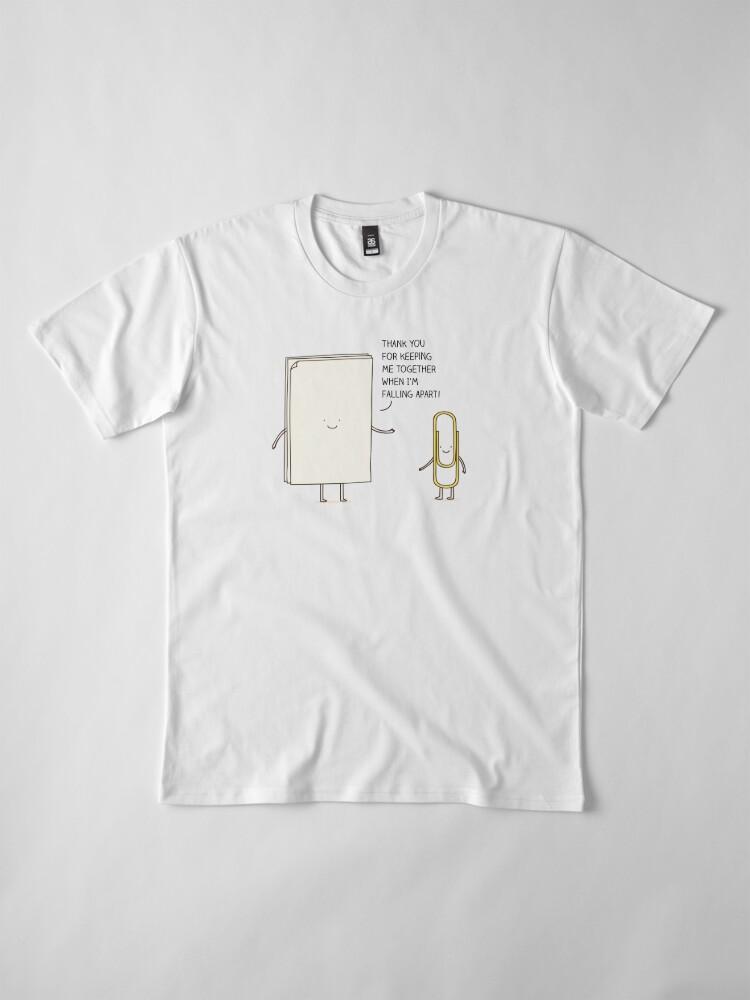 Alternative Ansicht von dankbar Premium T-Shirt