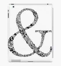 Ampersand LOVE iPad Case/Skin