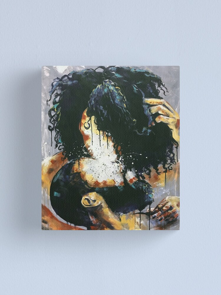 Alternate view of Naturally Black Love VI Canvas Print