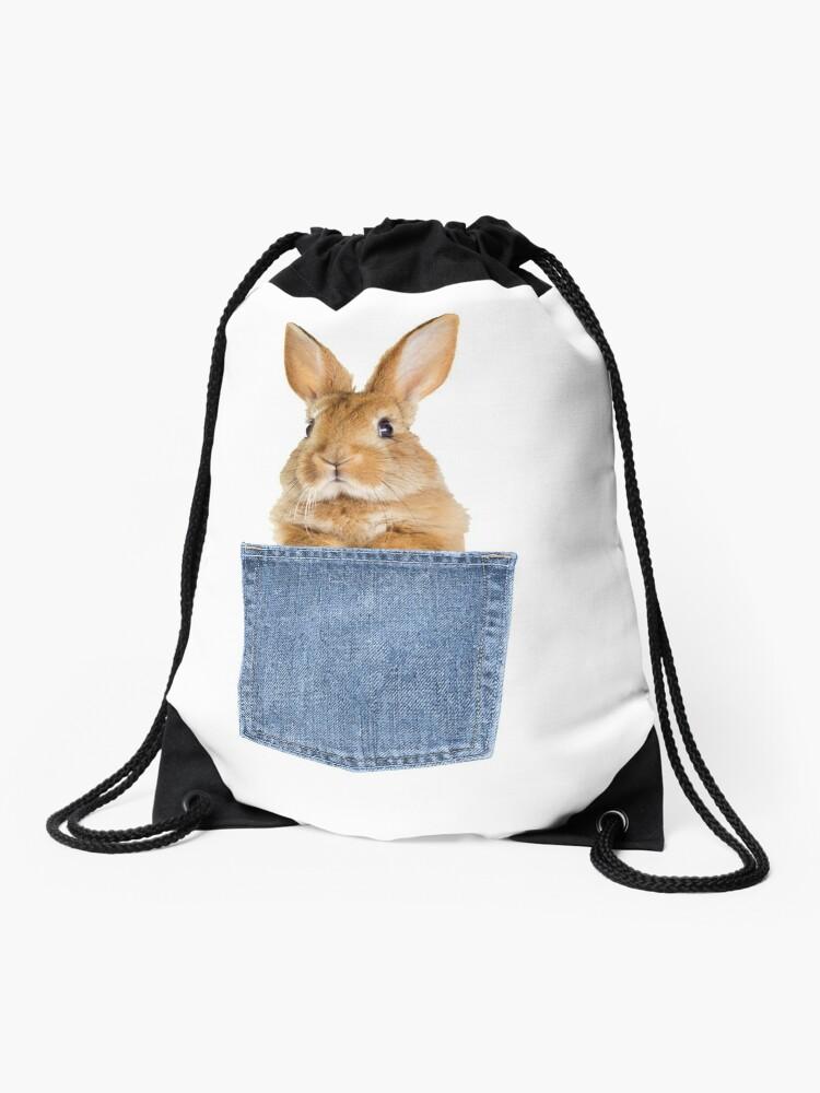 8e12622d3 Bunny Rabbit Pocket Tee - Funny Rabbit Bunny Lover Gift