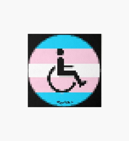 Handicap and singularity LGBT 2 by RootCat and marie b. Art Board