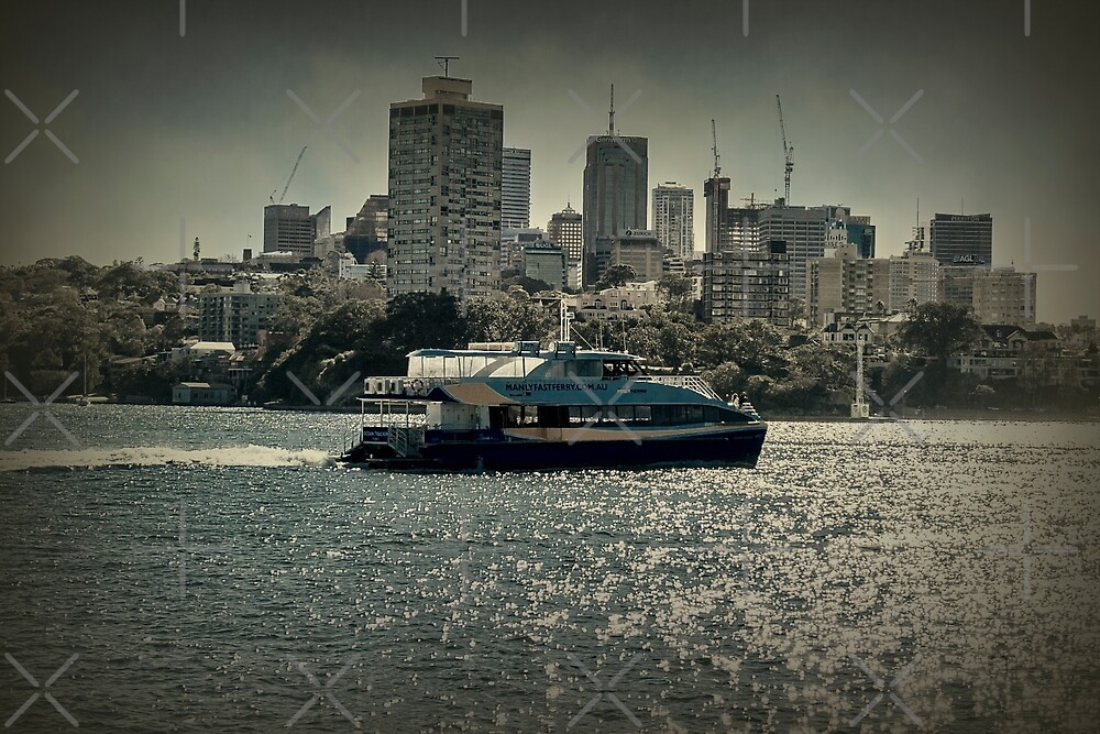 Manly Ferry by Elaine Teague