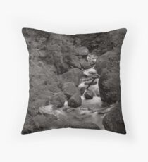 East Tyres River Throw Pillow