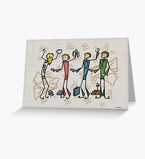 Intelligence/businessman Greeting Card