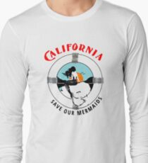 Save Our Mermaids Long Sleeve T-Shirt
