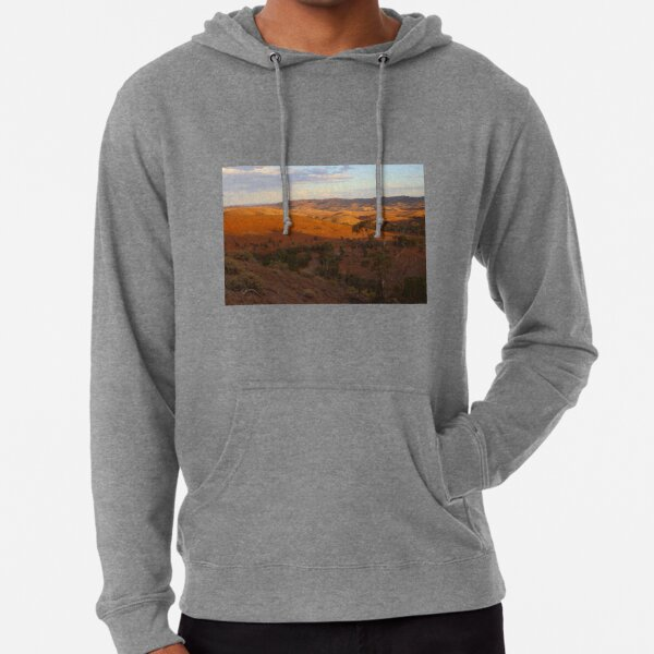 Sunset, Bendleby Ranges, Australia Lightweight Hoodie