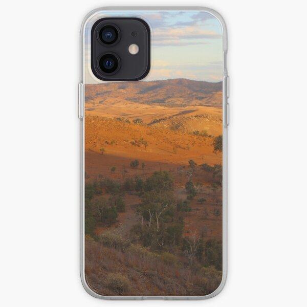 Sunset, Bendleby Ranges, Australia iPhone Soft Case