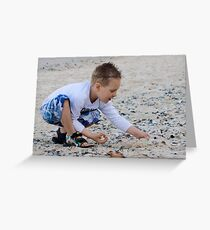 The Shell Seeker Greeting Card