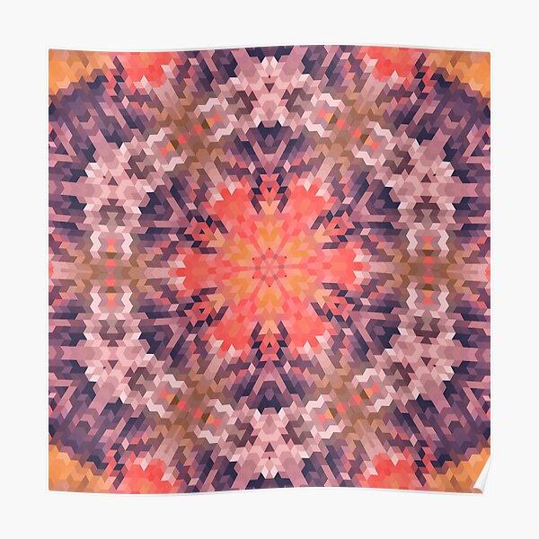 Geometric pattern 16 Poster