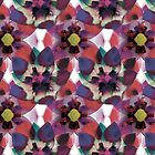 Colorful flower pattern by hutofdesigns