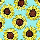 Sunflowers are the New Roses! - Aqua by TigaTiga
