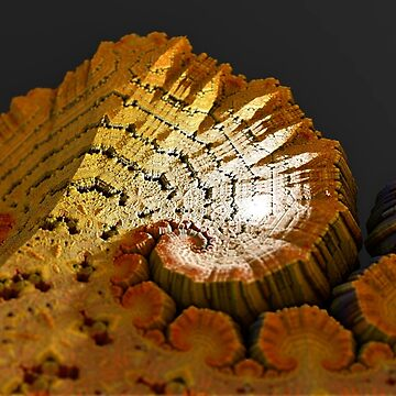 Ace of spades fractal landscape by christianmuller
