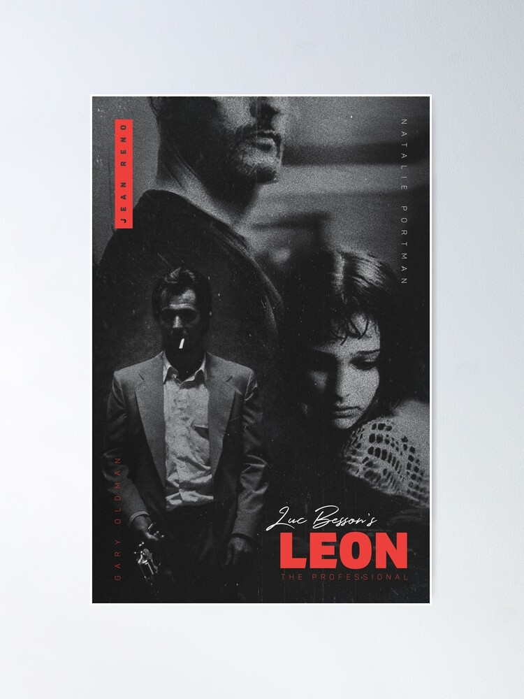 Alternate view of Léon: The Professional Poster
