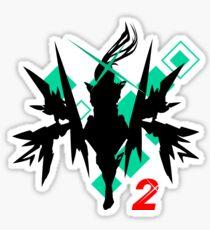 Pegatina Xenoblade Chronicles 2 - Pneuma Shilouette Design