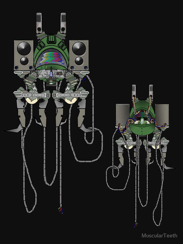 Sound Machine (colour) by MuscularTeeth