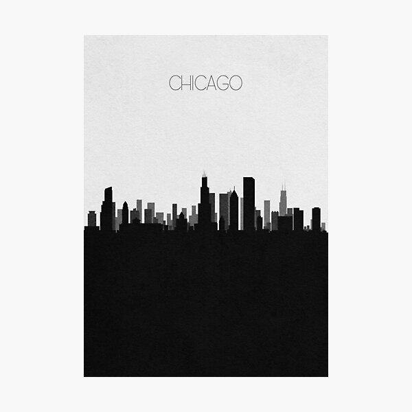 Travel Posters | Destination: Chicago Photographic Print
