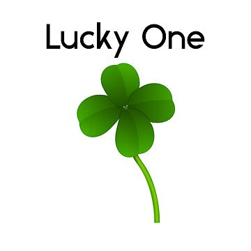 "Shamrock ""Lucky One"" black by Palme-Solutions"
