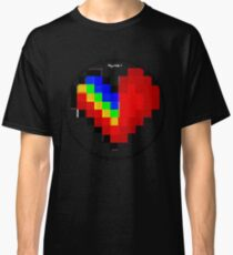 Heartii Pixii #4 by RootCat Classic T-Shirt