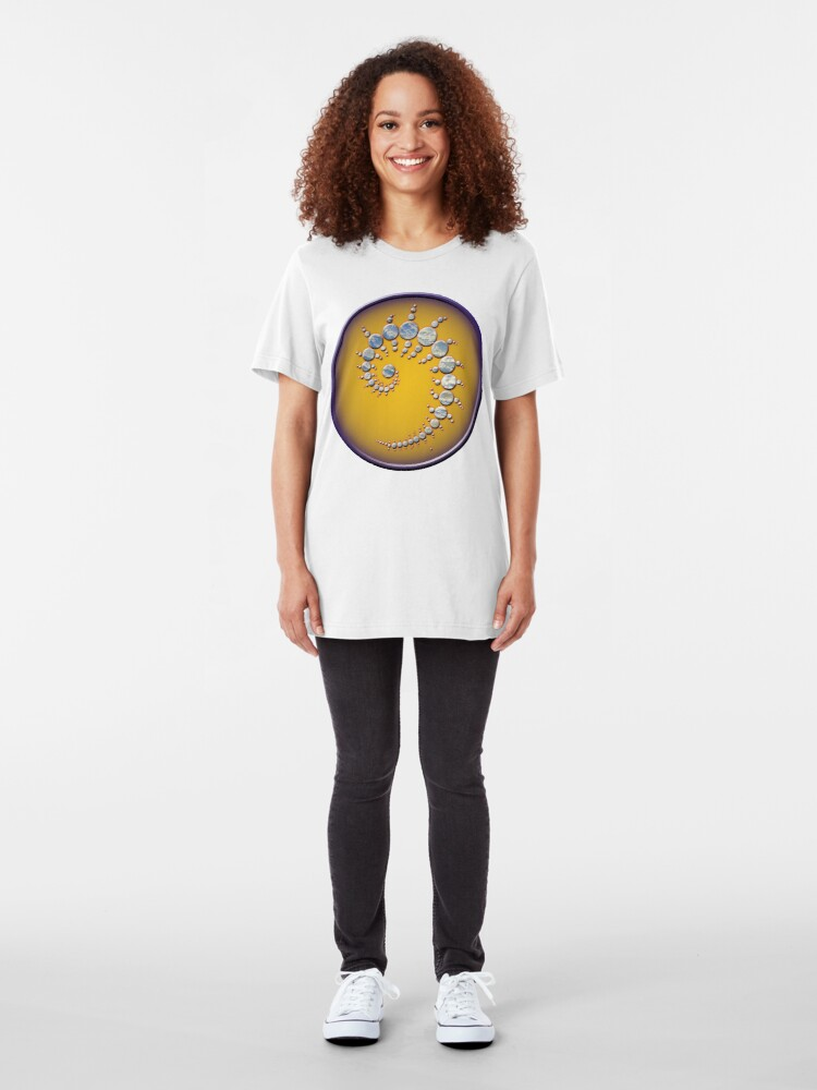 Alternate view of Crop circle Stonehenge - Wiltshire 1996 Slim Fit T-Shirt