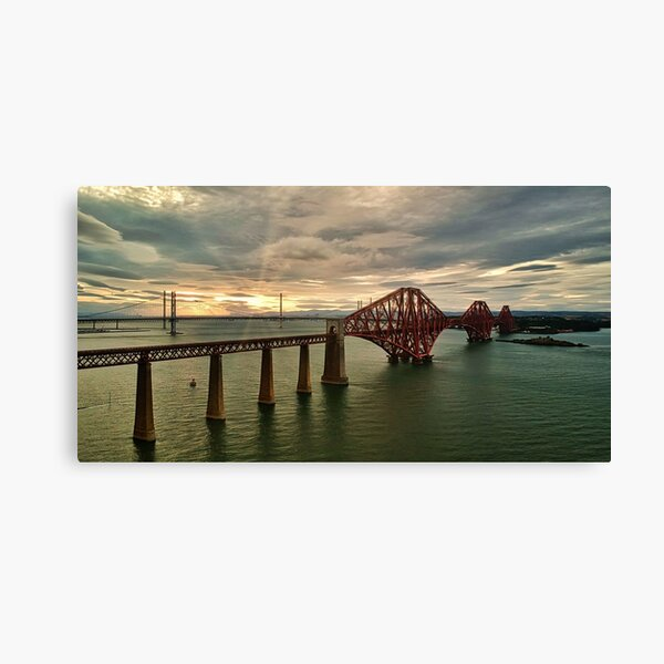 Forth Bridges Canvas Print