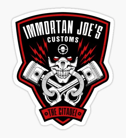 Immortan Joe's Customs Sticker