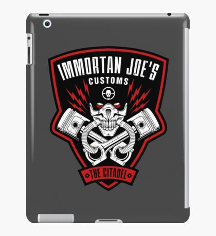 Immortan Joe's Customs iPad Case/Skin