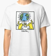 Keith Haring, Earth, Peace Classic T-Shirt