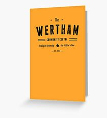 Misfits Wertham Community Centre Greeting Card