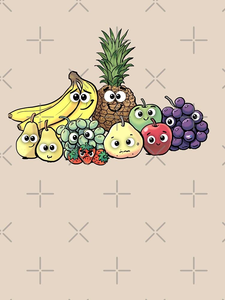 Fruit family by duxpavlic