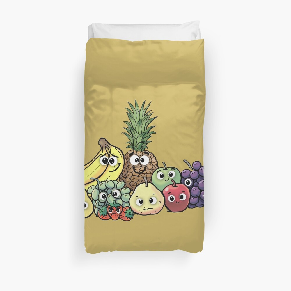 Fruit family Duvet Cover