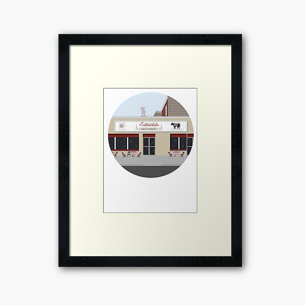 Satriale's, from the Sopranos HBO Framed Art Print