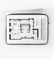 Carrie Bradshaw apt. (Sex and the City movies) Laptop Sleeve