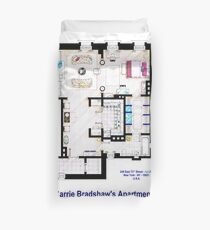 Carrie Bradshaw apt. (Sex and the City movies) Duvet Cover