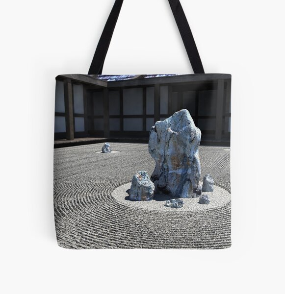Karesansui All Over Print Tote Bag