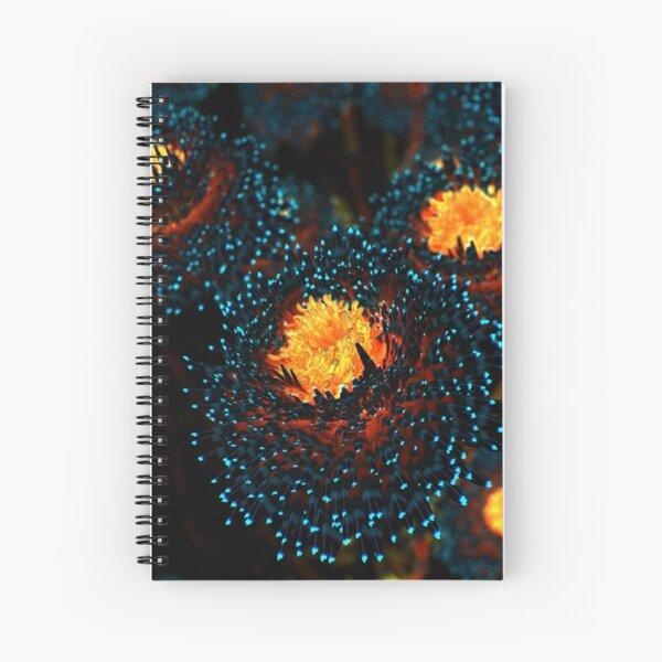 Electric Dahlia Spiral Notebook