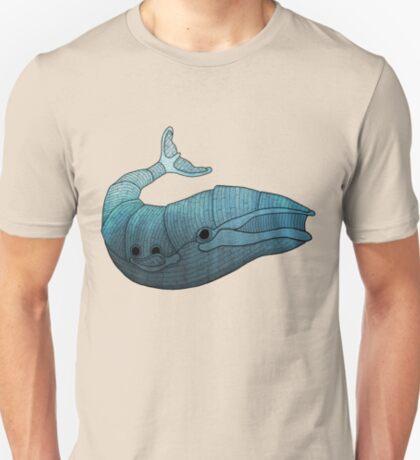 Barn Wood Whale T-Shirt