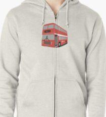 David's Bus Zipped Hoodie