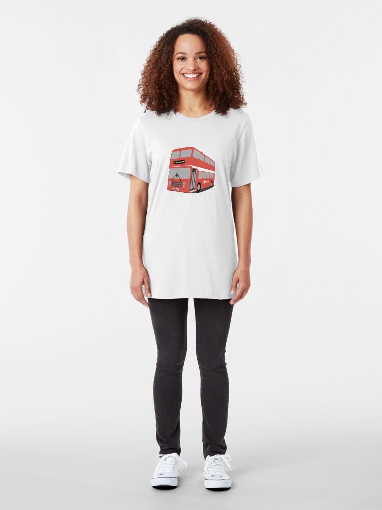 Alternate view of David's Bus Slim Fit T-Shirt