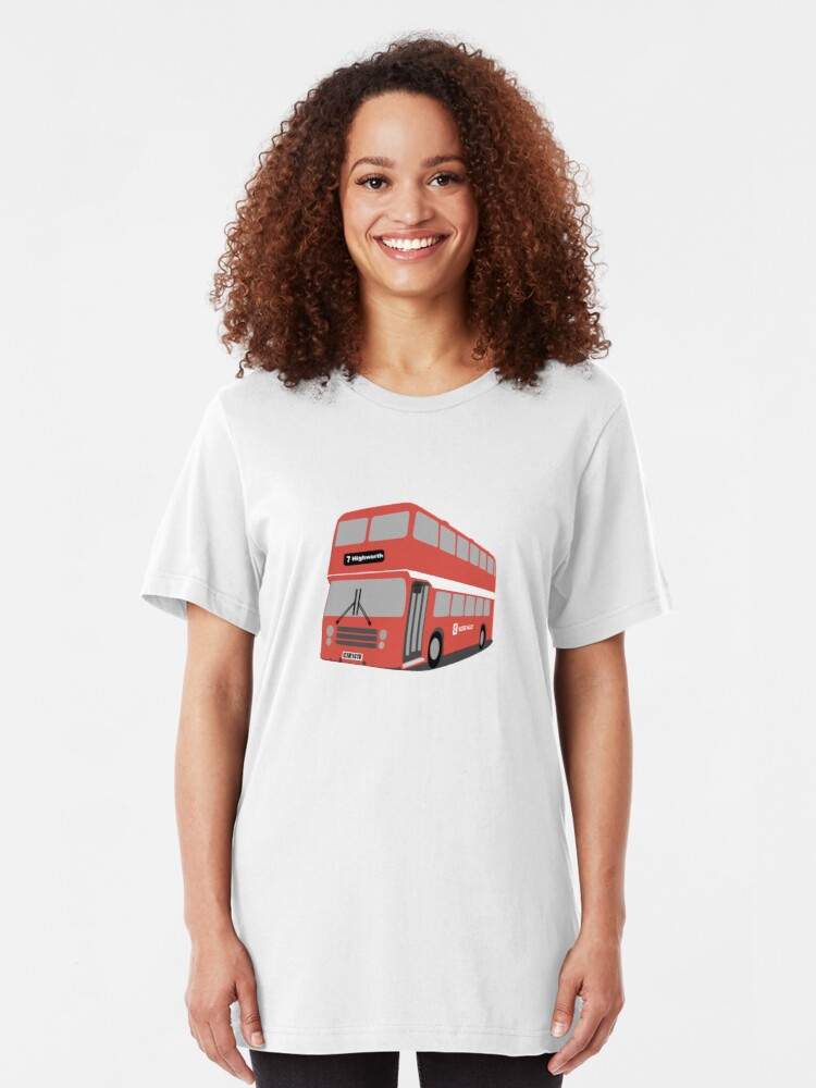 Alternate view of David's Bus Slim Fit T-Shirt